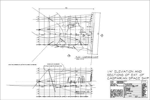 Plan & Elevation w/ Camera Angle Template